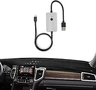 Car USB Dongle Digital Audio Adapter for Nissan Infiniti, External Music Model with Pod Phone 8p Interface for Q50 Q30 QX80 QX70 QX60 QX50 QX30 M37 M56, 2014-2018