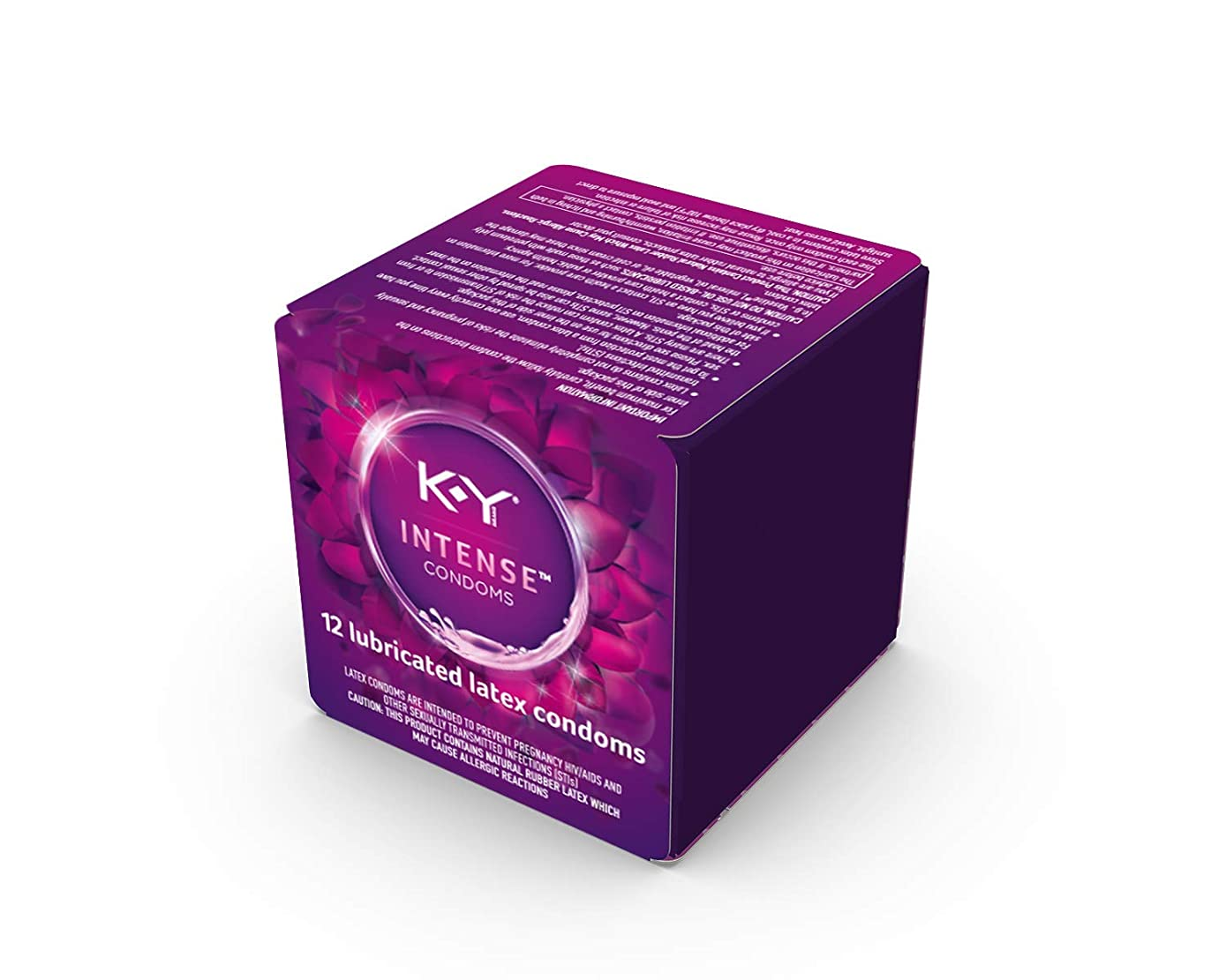 Condoms, K-Y Me & You Intense Latex Ultra Thin Condoms. Intensifying Sensation For Her and Natural Fit for Him.  12 Count. Natural Rubber Latex Condoms with Water-Based Lubricant. HSA Eligible