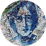 - Slipmat - panno feltro per giradischi vinile 'John Lennon'