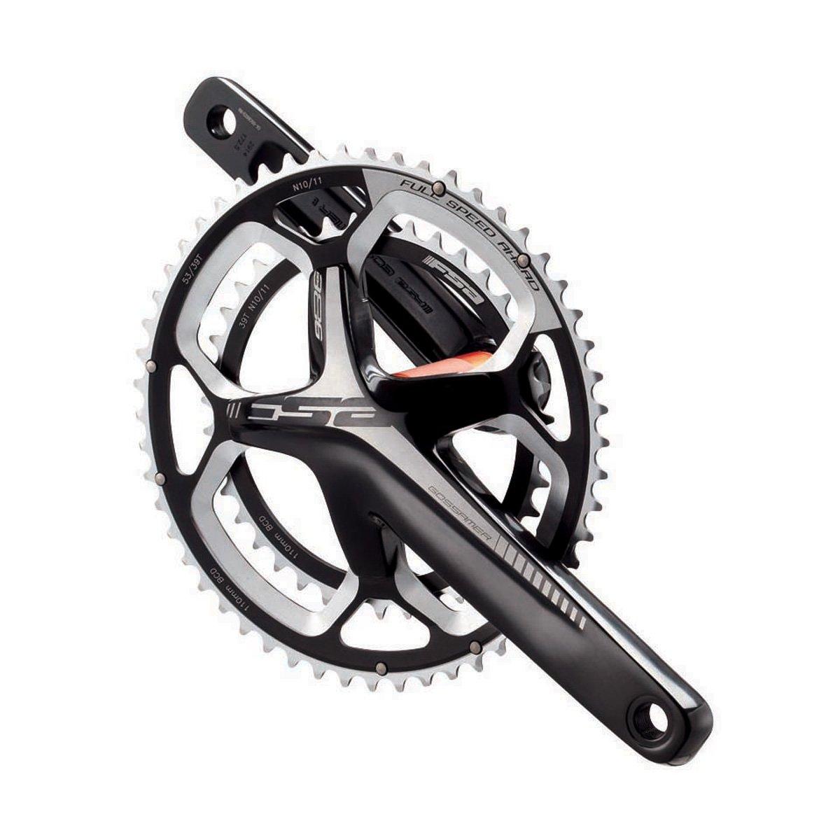 Gossamer 386EVO Bicycle Crankset Black