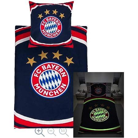 Aufkleber M/ünchen Forever Bed Linen TRIPLE Bayern M/ünchen kompatibel Bettw/äsche draps de lit ropa de cama