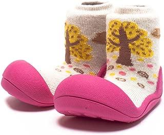 Attipas Giraffe Baby Walker Shoes, Fuchsia, Large