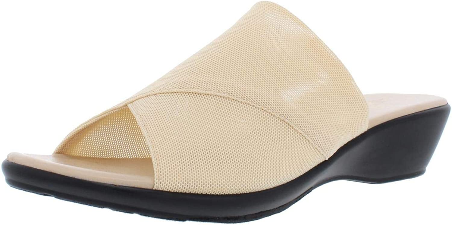 Callisto of California Womens Shindy Synthetic Wedges Wedge Sandals