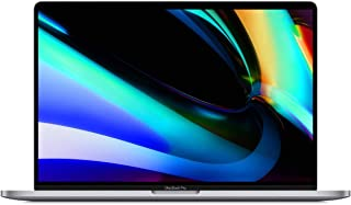 "Apple 16"" MacBook Pro with Touch Bar, 9th-Gen 8-Core Intel i9 2.4GHz, 64GB RAM, 2TB SSD, AMD Radeon Pro 5500M 8GB, Sp..."