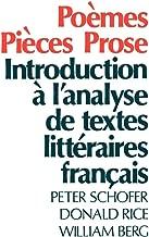 published prose pieces