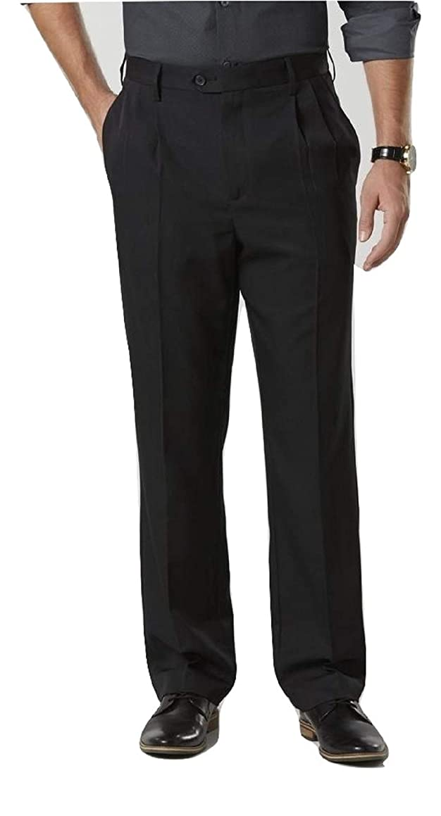 David Taylor Collection Men's Classic Fit Dress Pants Size 38x30 Black