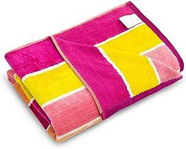 Trident - Toallas de baño suaves de colores 100% de algodón, sensación de terciopelo, muy suaves y altamente absorbentes
