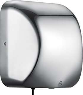 Happybuy Commercial Hand Dryer 1800W High Speed Automatic Hand Dryer for Bathrooms Stainless Steel for Hotel Home Bathrooms