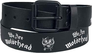 Motörhead We Are Cinturón Negro