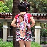 ZITA ELEMENT Mode Sac à Dos Porte-Bébé pour 18' Poupée American Girl 45-46cm Poupées Bébé Madame Alexander Our Generation Dolls