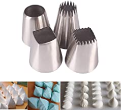 Symphony Wire Tips, Stainless Steel Icing Piping Nozzles For Pastry Fondant Tools (B)