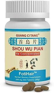 Shou Wu Pian - FotiHair - 200 Mg - 200 Tablets
