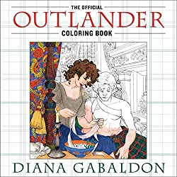 outlander science fiction coloring book for adults