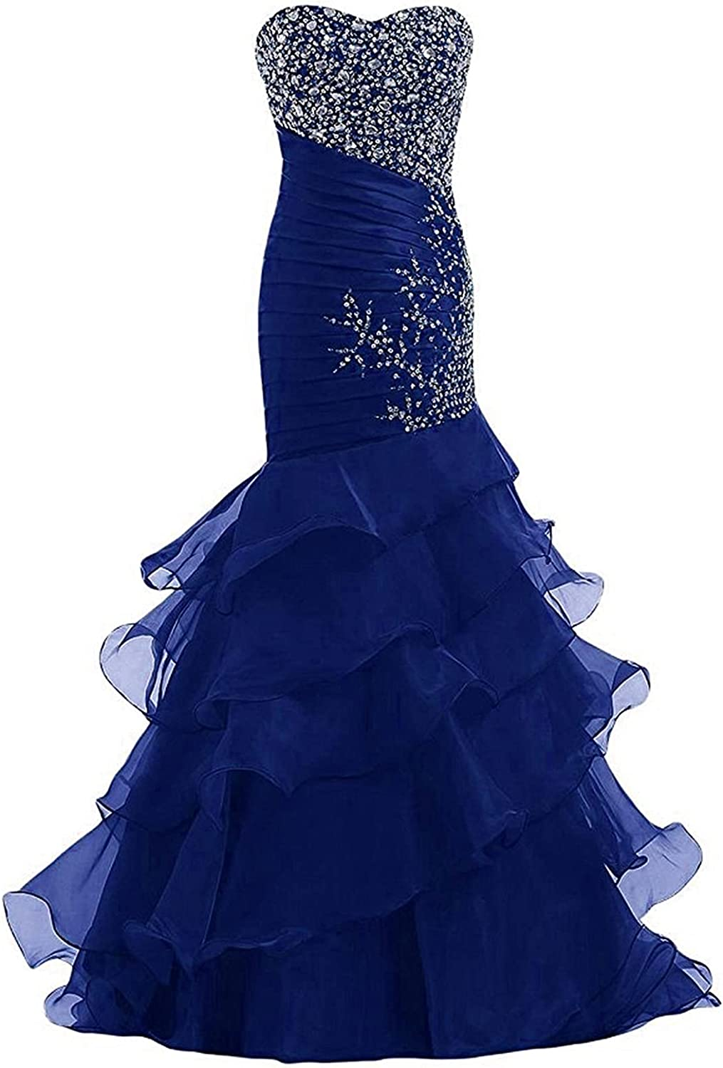 LL Bridal Women's Sweetheart Quinceanera Ball Gown Pageant Dress with Ruffles
