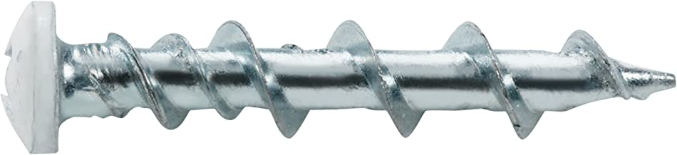 Hillman 385390 WallDog Self-Drilling Pan Head Phillips, 3/16-Inch by 1-1/4-Inch, Chrome