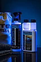 WashMist Waterless Car Wash Kit - Evolutionary Hydrophobic Polymer Technology - Eco-Friendly - Fast Easy to use; Clean Shine, virtually Anywhere, Anytime!