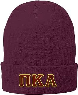 PI Kappa Alpha Pike Big Greek Lettered Knit Cap