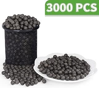 LuckIn Slingshot Ammo Ball, Slingshot Clay Ball 3/8 inch, Slingshot Clay Ammo Biodegradable, Soil Color, 3000 Pcs