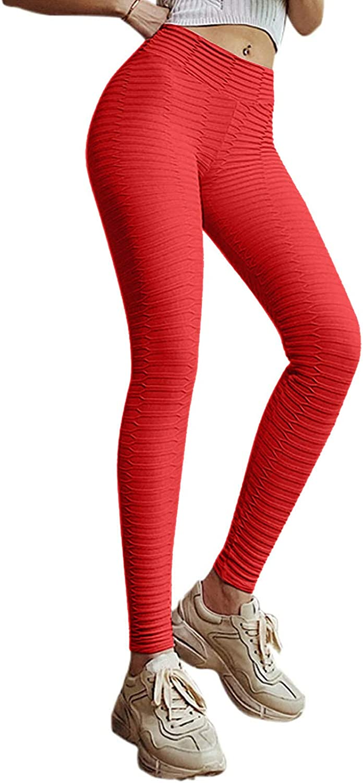 AODONG Yoga Pants for Women High Waist,Womens High Waisted Yoga Leggings Buft Lifting Fitness Sports Running Leggings
