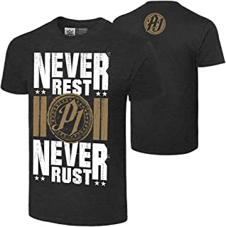 WWE AJ Styles Never Rest, Never Rust Authentic T-Shirt