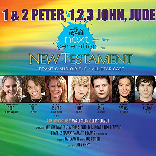 (34) 1,2 Peter - 1,2,3 John - Jude, The Word of Promise Next Generation Audio Bible cover art