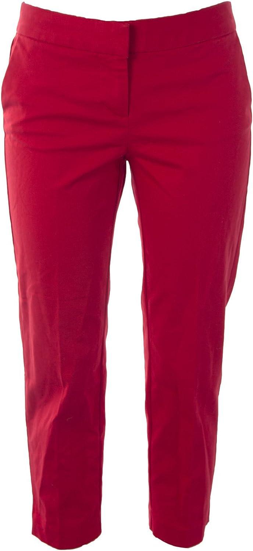 BODEN Women's Bistro Crop Trousers Venetian Red