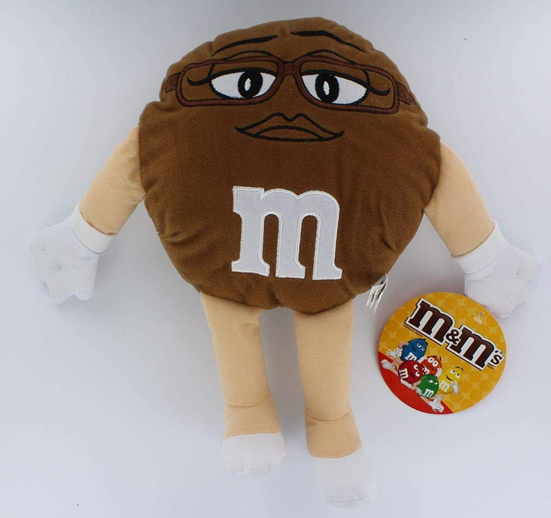 M&M's 14  Plush Doll  Brown M&M