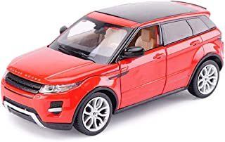 TZSMCMX Model Car 1:24 Land Rover Range Rover Aurora Simulation Alloy Die-Casting Toy Ornaments Sports Car Collection Jewelry 18x7x7CM