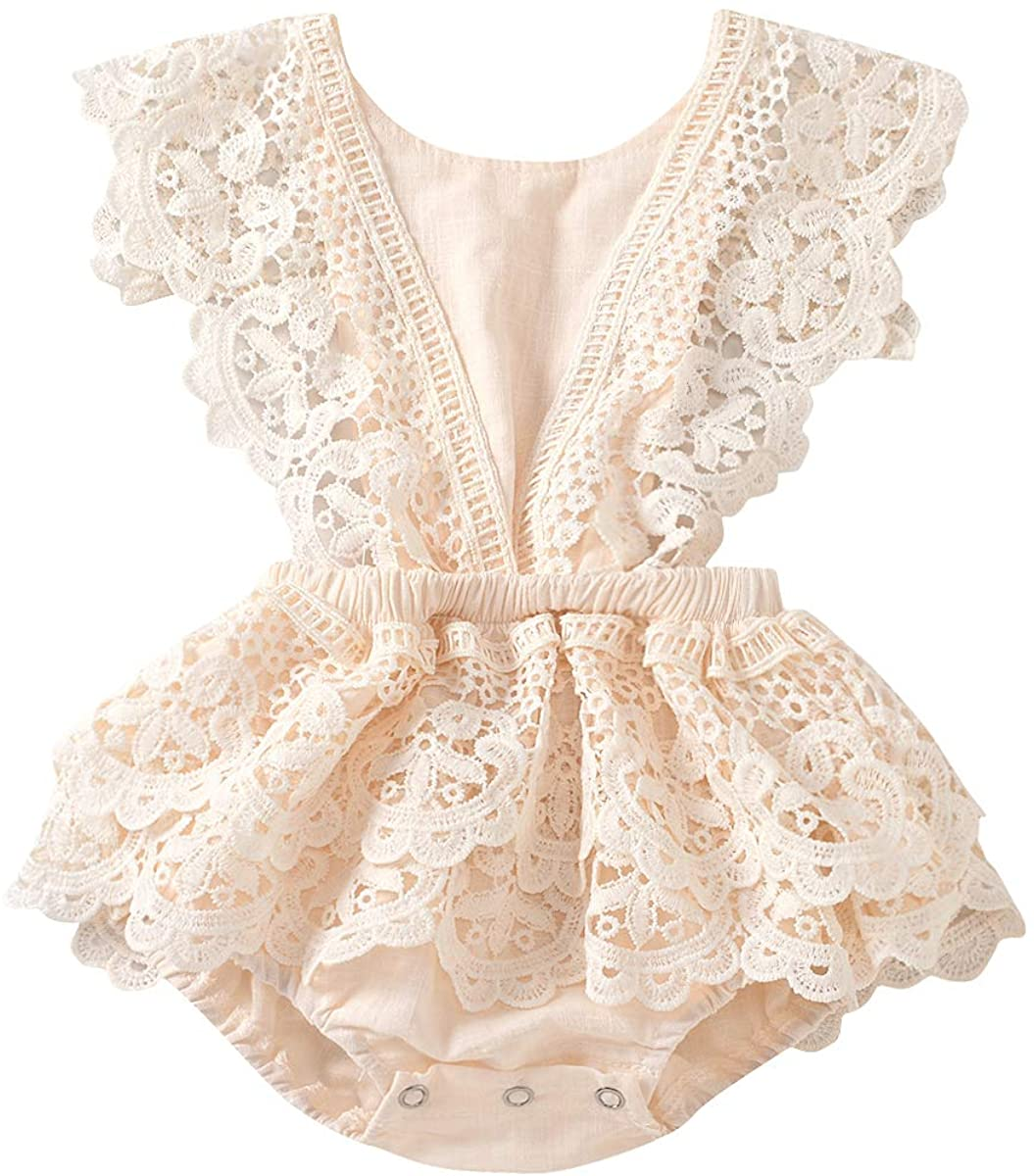Baby Girl Lace Romper Japan Maker New Oklahoma City Mall Boho Outfits Clothes Newborn Photography
