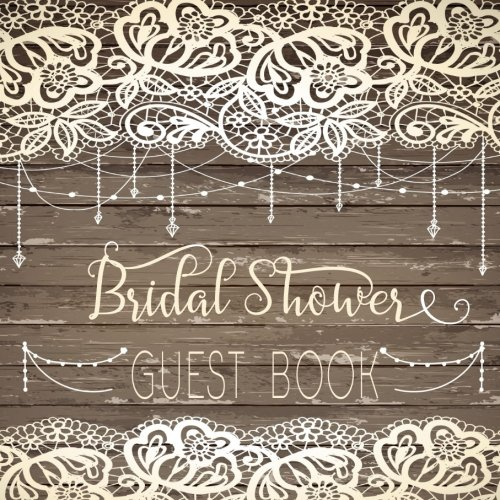 Guest Book Bridal Shower: Guest Book For Brides To Be V6