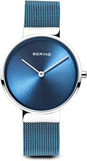 BERING Unisex Analogue Quartz Watch with Stainless Steel Strap 14531-308