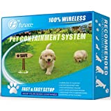 Wireless Pet Fence - Free to Roam Wireless Containment for Dogs -...