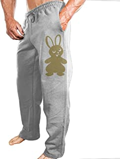 Mens Sports Pants Cute Bunny Rabbit 02 Sweatpants With Fashion Protruding-body Design For Shopping Four-Seasons Casual Pants
