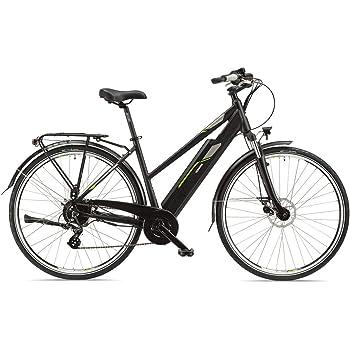 Telefunken Bicicleta eléctrica para Mujer, Aluminio, 28 Pulgadas con Cambio de Cadena Shimano Acera de 8