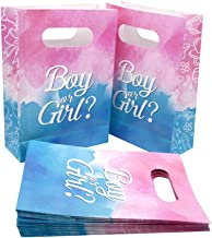 24Pack Gender Reveal Party Supplies Paper Treat Bags Baby Shower Party Favor Gift Goodie Bags Table Decorations