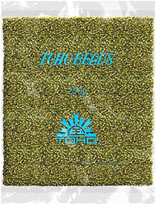 Toho Perlen machen Bead 8 0 Gold gefüttert Rainbow Peridot 250 g B072DWHDGN | Marke