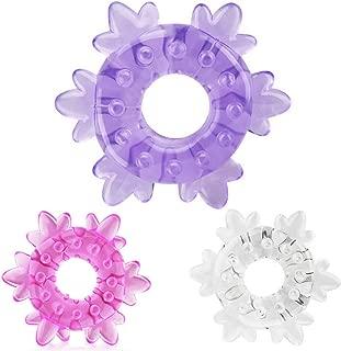 Men Fashion Snowflakes Toy-V03IIDTT-98970 Pểñís Rìg Cóck Ejáčulātion Delay