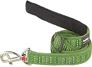 Red Dingo (No Suggestions) Green Dog Lead, Large