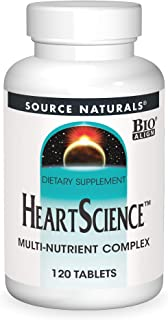 Source Naturals HeartScience Multi-Nutrient Complex - Supports Normal Heart Function & Blood Circulation - 120 Tablets