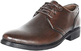 Zoom Mens Online Genuine Leather Formal Shoes B-52-Brown