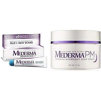 Amazon Com Mederma Advanced Scar Gel With Pm Intensive Overnight