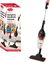 Quest 44830 Vacuum Cleaner 2-in-1 Upright & Handheld, Corded, HEPA Filter, Lightweight & Bagless Design, Black