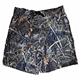 Realtree Mens Brown Max-4 HD Waterfowl Camouflage Board Shorts...
