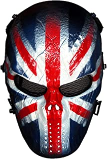 Full Face Airsoft Mask with Metal Mesh Eye Protection