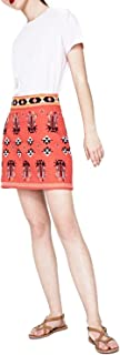 Pepe Jeans Womens PL900698 Pepe Jeans A Line Skirt for Women - Red