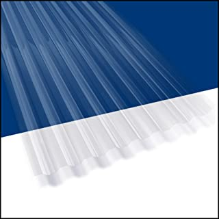 Amazon com: corrugated plastic roofing