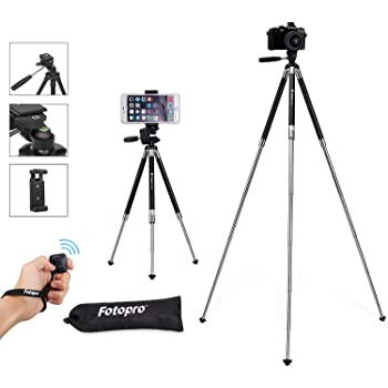 Vlogging//Streaming//Photography Rotatable Live Video Stand Compatible with iOS//Android and Most Mobile Phones Cell Phone Tripod 70 Adjustable Phone Tripod for Video Recording