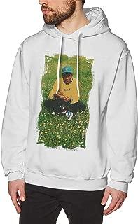 Nanatang Tyler The Creator Mens Long Sleeve Hoodies Fashion White