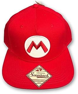 online store 40131 8ef37 Nintendo Officially Licensed Super Mario Red Snapback Baseball Cap