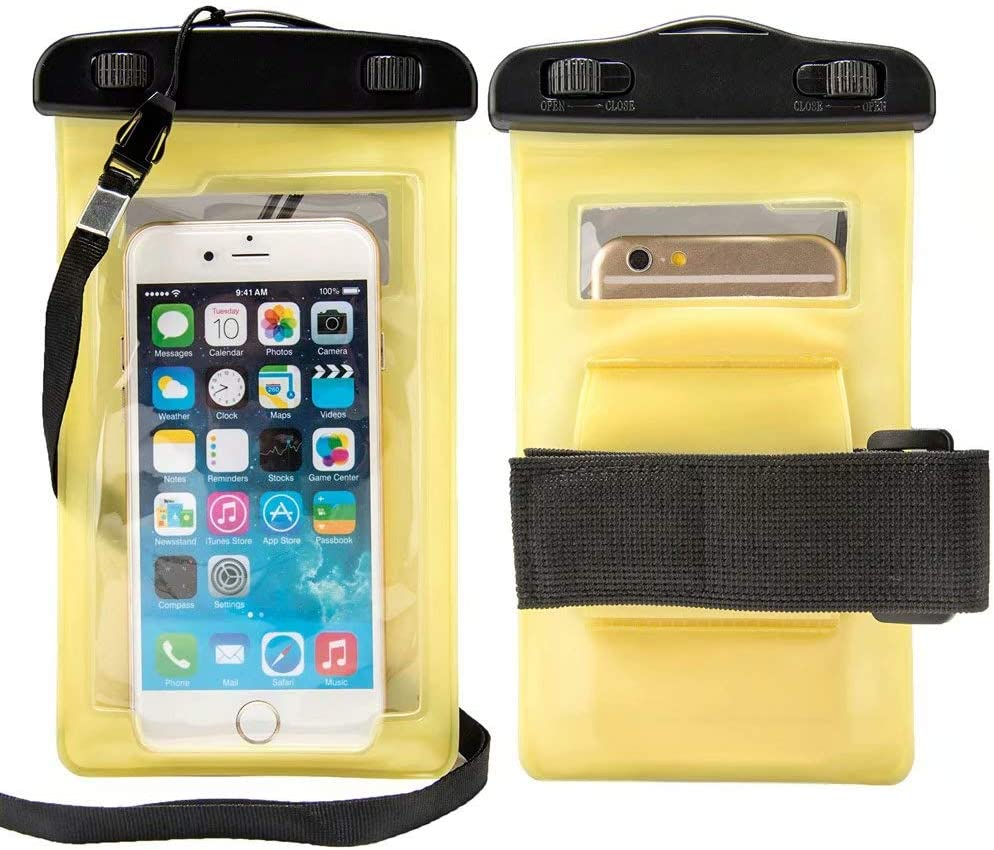 Waterproof Cell Phone Holder Dry Bag Fit for BLU J5L, C5L, G50, Studio X10, Studio X9 HD, J2, J4, View 1, C5 Plus, C5